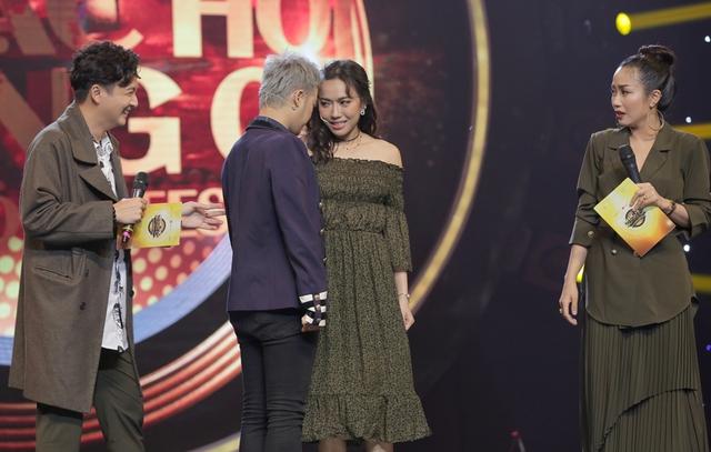 Diệu Nhi, Lê Lộc, Thanh Duy phấn khích tột độ khi gặp thần tượng Ưng Hoàng Phúc tại Nhạc hội song ca mùa 2 - Ảnh 6.