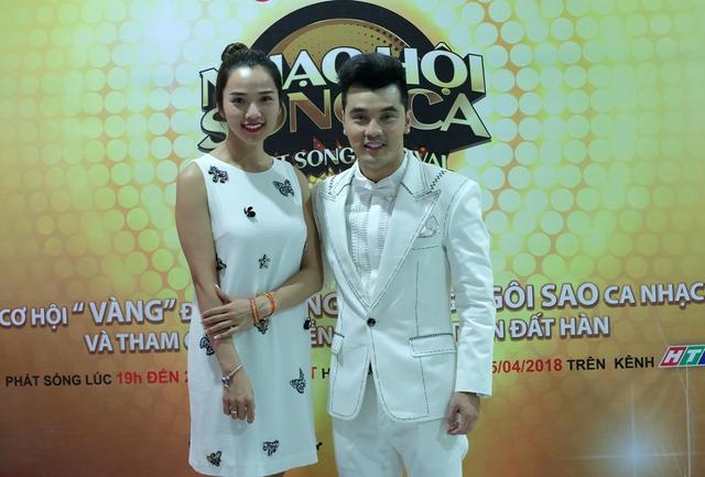 Diệu Nhi, Lê Lộc, Thanh Duy phấn khích tột độ khi gặp thần tượng Ưng Hoàng Phúc tại Nhạc hội song ca mùa 2 - Ảnh 11.