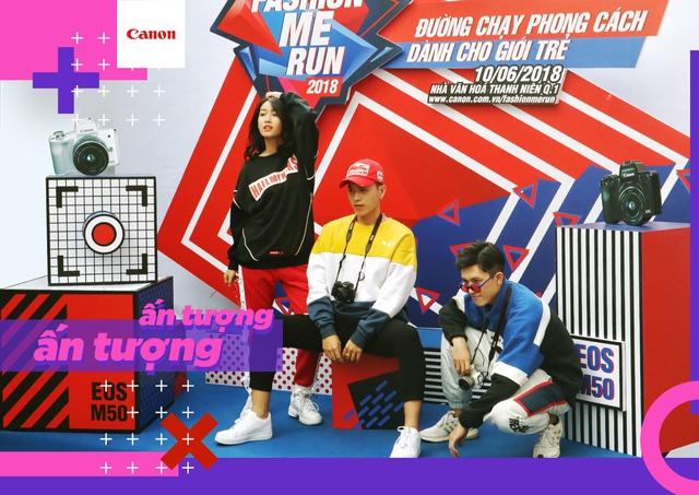 Canon EOS M50 Fashion Me Run – Sân chơi mới cho giới trẻ trong mùa hè này - ảnh 1