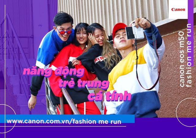 Canon EOS M50 Fashion Me Run – Sân chơi mới cho giới trẻ trong mùa hè này - ảnh 3