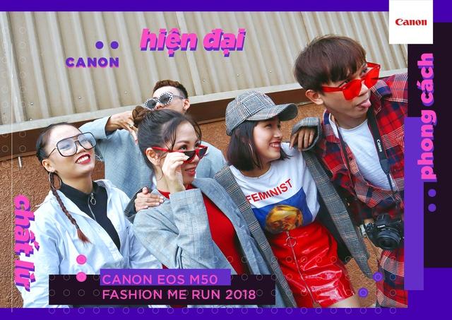 Canon EOS M50 Fashion Me Run – Sân chơi mới cho giới trẻ trong mùa hè này - ảnh 4