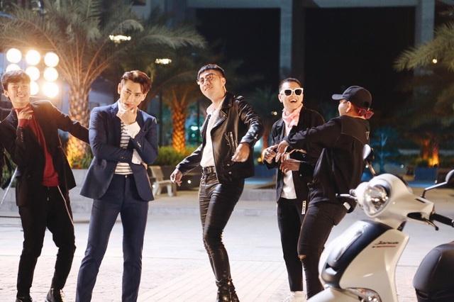 Hé lộ hậu trường vui nhộn của bộ ba Isaac, Chi Pu, Only C trong MV mới - Ảnh 5.