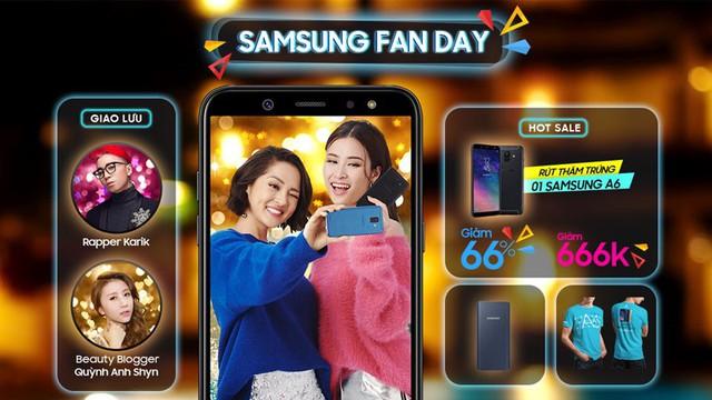 """Karik sánh đôi cùng """"người lạ"""" tại Samsung Fan Day của Thế Giới Di Động - Ảnh 2."""