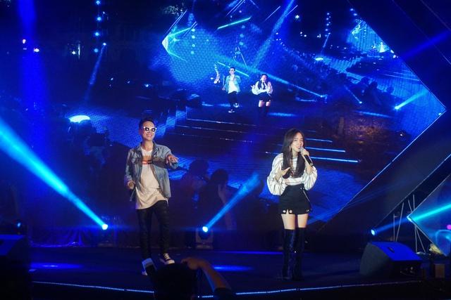 """Mỹ Tâm, JustaTee và Phương Ly cháy hết mìnhtrên sân khấu """"Sống Khỏe để yêu thương"""" - Ảnh 3."""