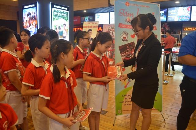 Mừng Quốc tế thiếu nhi, Lotte Cinema dành tặng 8.000 suất chiếu miễn phí cho các em học sinh trên toàn quốc - Ảnh 2.