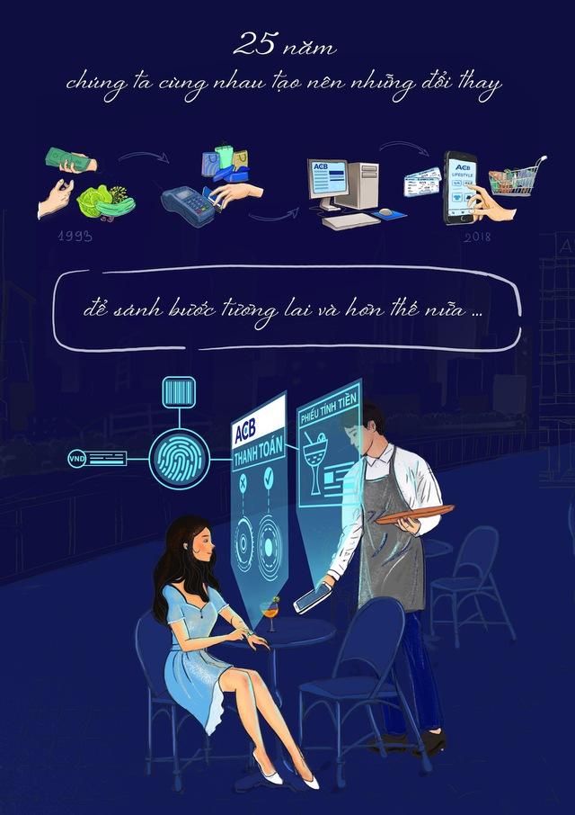 Bộ tranh vẽ độc đáo về tương lai ngành ngân hàng - Ảnh 1.