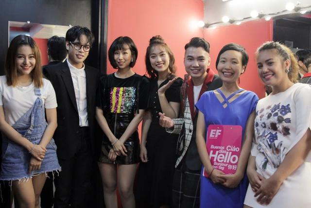 Min và Jaykii xuất hiện, truyền cảm hứng cho thí sinh tại đêm thi Nhóm hát top 35 của Voice Up - Ảnh 2.