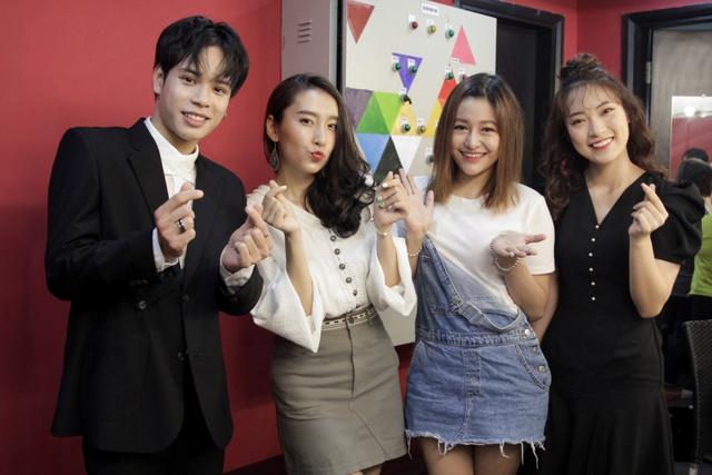 Min và Jaykii xuất hiện, truyền cảm hứng cho thí sinh tại đêm thi Nhóm hát top 35 của Voice Up - Ảnh 8.