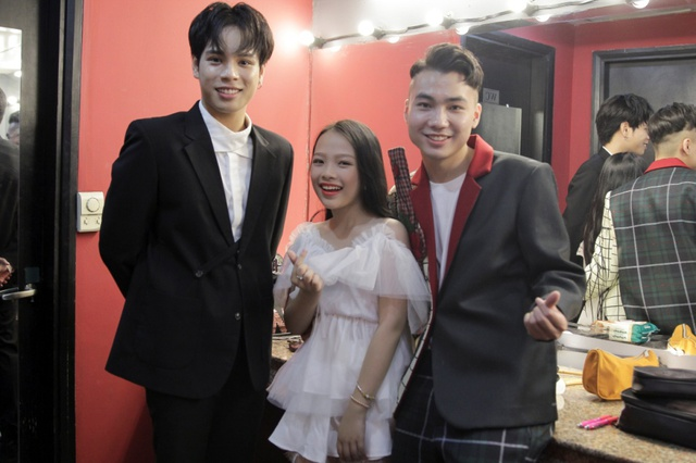 Min và Jaykii xuất hiện, truyền cảm hứng cho thí sinh tại đêm thi Nhóm hát top 35 của Voice Up - Ảnh 12.