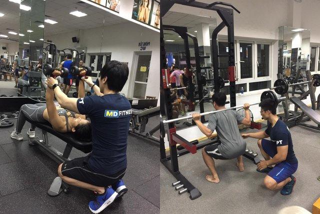 """MD Fitness: Hệ thống phòng tập Gym """"Sang - Xịn - Mịn"""" ngay tại Hà Nội - Ảnh 3."""