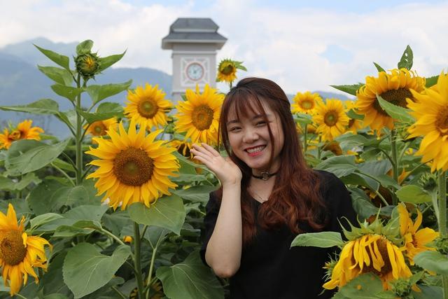 """Tò mò với cuộc thi """"Ai đẹp hơn hoa"""" tại tuần lễ hoa hướng dương Fansipan 2018 - Ảnh 3."""