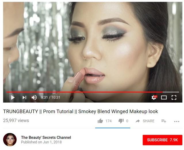 Quyết không từ bỏ đam mê, bạn trẻ lập hẳn kênh Youtube để duy trì ước mơ với nghề beauty blogger - Ảnh 4.