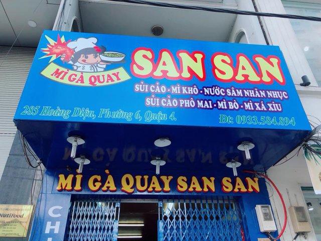 Mỳ gà quay San San khai trương chi nhánh mới, giới trẻ Sài thành lại có thêm một địa điểm ăn chơi - Ảnh 5.