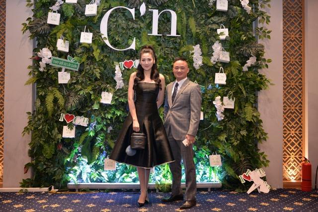 Á hậu Tú Anh xuất hiện xinh đẹp tại sự kiện ra mắt thương hiệu mỹ phẩm thiên nhiên Hàn Quốc C'n - Ảnh 1.