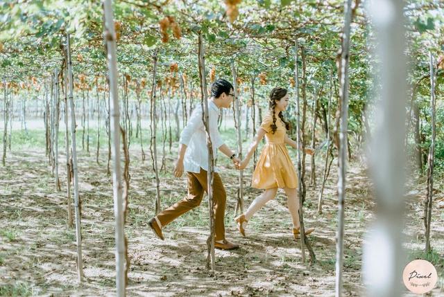 Mùa hè trong trẻo với phong cách ảnh Asian Rustic wedding - ảnh 2