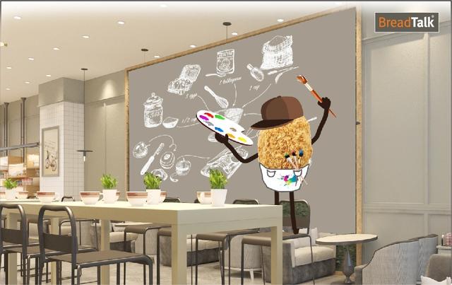 Khám phá cơ hội siêu hấp dẫn cho các bạn yêu hội họa cùng BreadTalk Royal City Hà Nội - ảnh 1
