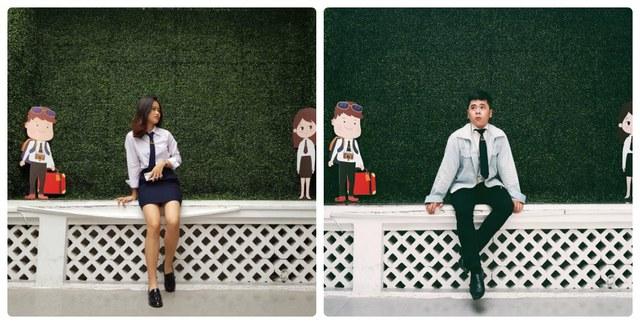 Cùng ngắm nhìn đồng phục siêu đẹp của sinh viên trường Cao đẳng nghề Du lịch Sài Gòn - Ảnh 5.