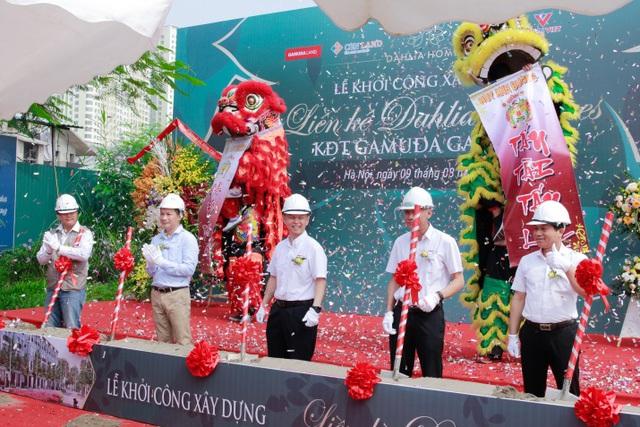 Khởi công dự án liền kề Dahlia Homes - Khu đô thị Gamuda Gardens - ảnh 1