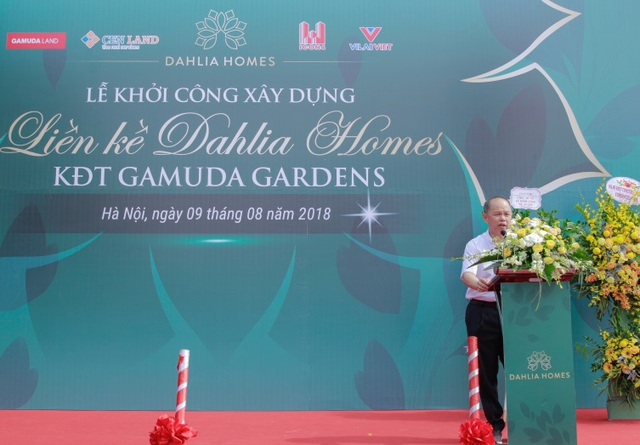 Khởi công dự án liền kề Dahlia Homes - Khu đô thị Gamuda Gardens - ảnh 2