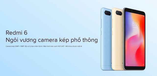 Xiaomi Redmi 6 - CùngShopeenâng tầm trải nghiệm - ảnh 1