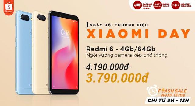 Xiaomi Redmi 6 - CùngShopeenâng tầm trải nghiệm - ảnh 5