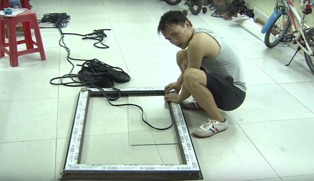 Không giới hạn - Sasuke Việt Nam: Sự quyết tâm của anh thợ nhôm kính - ảnh 3