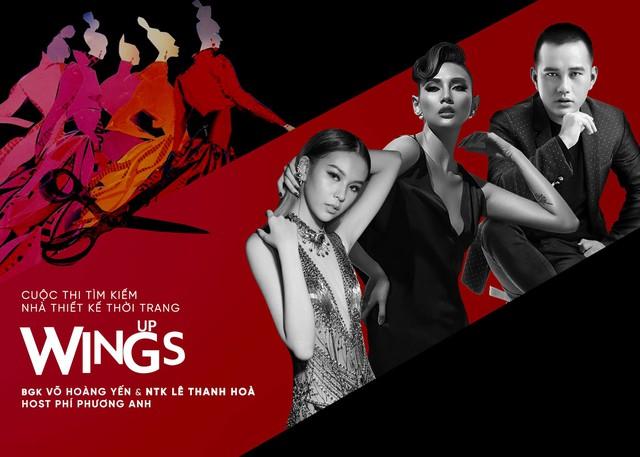 """Võ Hoàng Yến đụng độ Lê Thanh Hòa trên ghế nóng cuộc thi tìm kiếm nhà thiết kế trẻ """"Wings Up"""" - ảnh 5"""