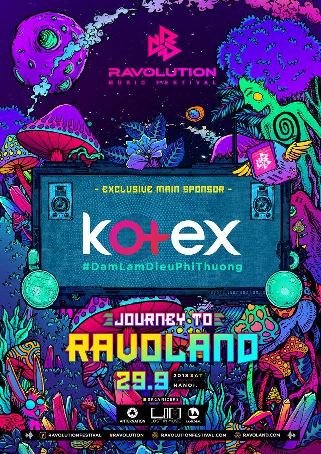 Kotex truyền cảm hứng tới các ravers nữ trong chuỗi sự kiện Road To Ravolution tại 2 thành phố lớn - ảnh 1