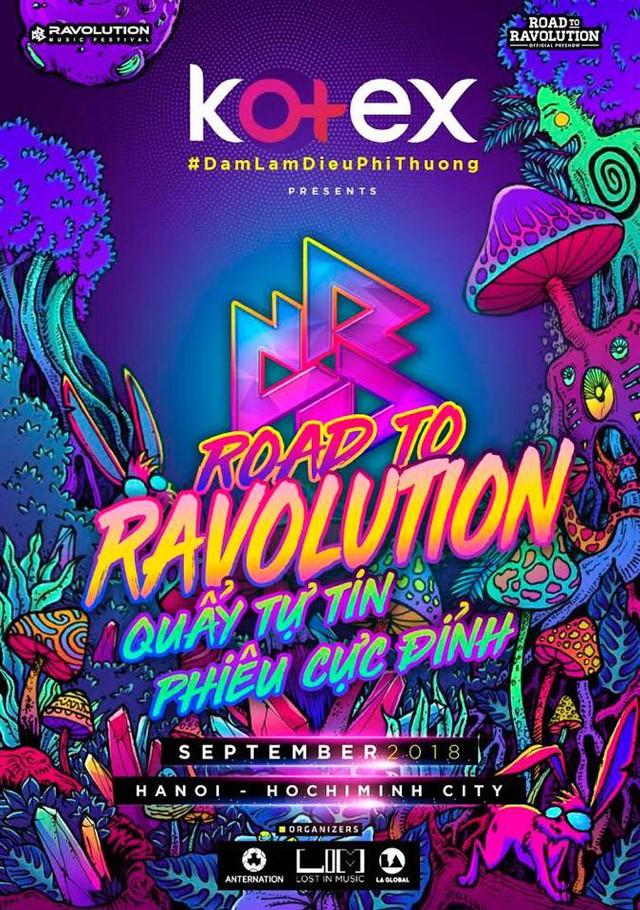 Kotex truyền cảm hứng tới các ravers nữ trong chuỗi sự kiện Road To Ravolution tại 2 thành phố lớn - ảnh 2