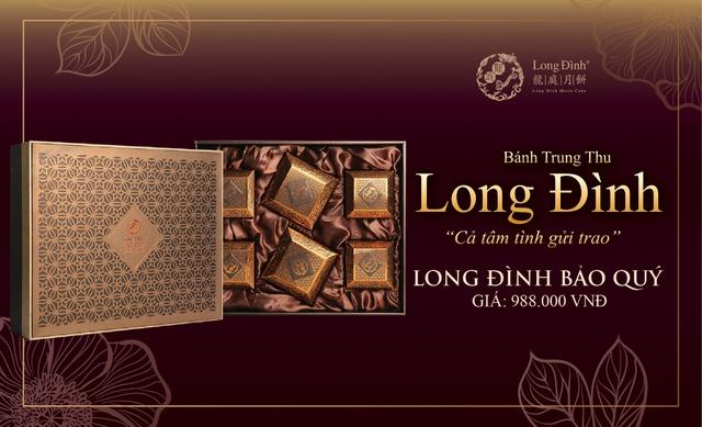 Bánh Trung thu Long Đình – Món quà trang trọng thay lời tri ân - ảnh 2