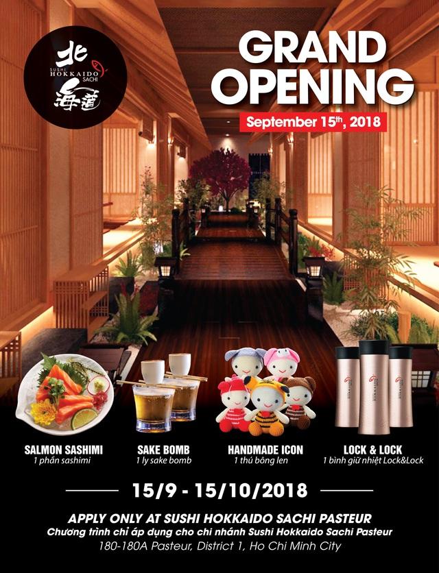 Khai trương nhà hàng Nhật Sushi Hokkaido Sachi - ảnh 8