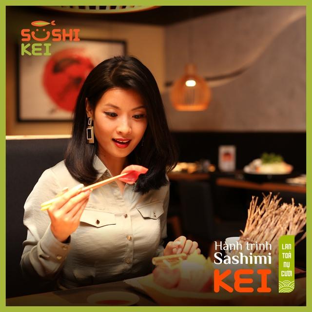 Kinh ngạc với cá ngừ khổng lồ 80kg cùng màn trình diễn chế biến chuyên nghiệp ngay tại nhà hàng Nhật - Sushi Kei - ảnh 7
