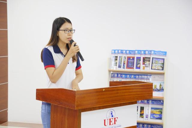 Sinh viên được tiếp thêm động lực học tập từ quỹ học bổng UEF - Ảnh 3.