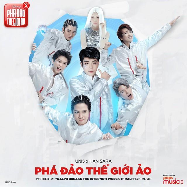 Hơn 6 triệu views, Han Sara và Uni5 khiến fan nức lòng với MV Phá Đảo Thế Giới Ảo - ảnh 1