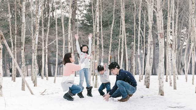 Đến xứ Hàn, thực hiện giấc mơ chạm vào tuyết trắng - Ảnh 4.
