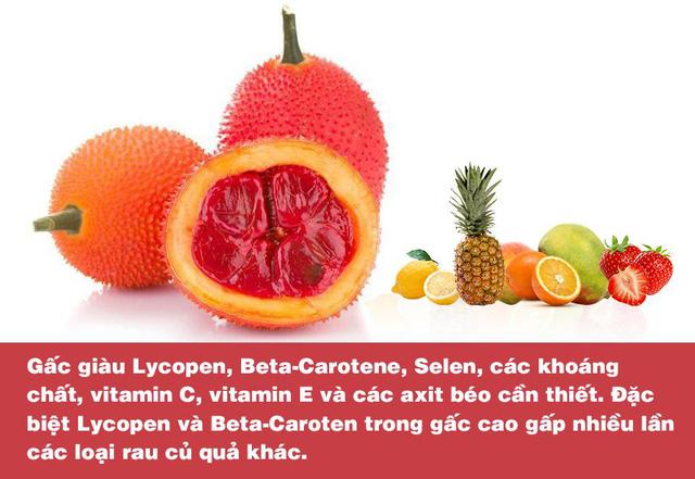 Chứa hàm lượng dưỡng chất cao gấp nhiều lần cà chua, cà rốt; gấc chính là thực phẩm vàng dành cho lá gan - Ảnh 1.