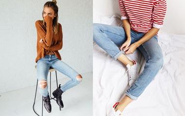 6 mẹo nhanh gọn giúp nàng giải quyết chiếc quần jeans bị chật hay bai dão