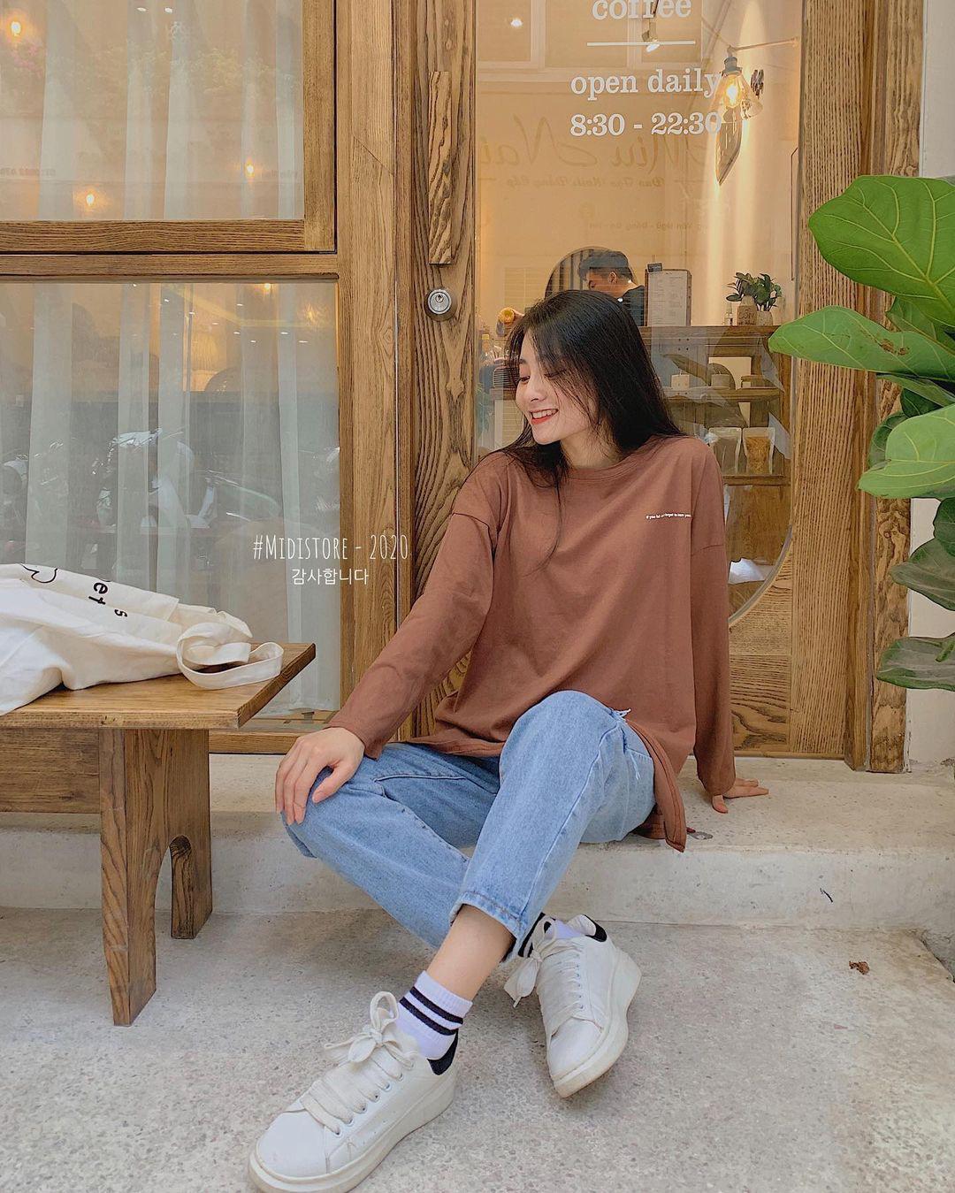 10 set đồ với quần jeans đáng sắm nhất tại các shop lúc này, giá cả thì cực kỳ yêu thương - Ảnh 4.