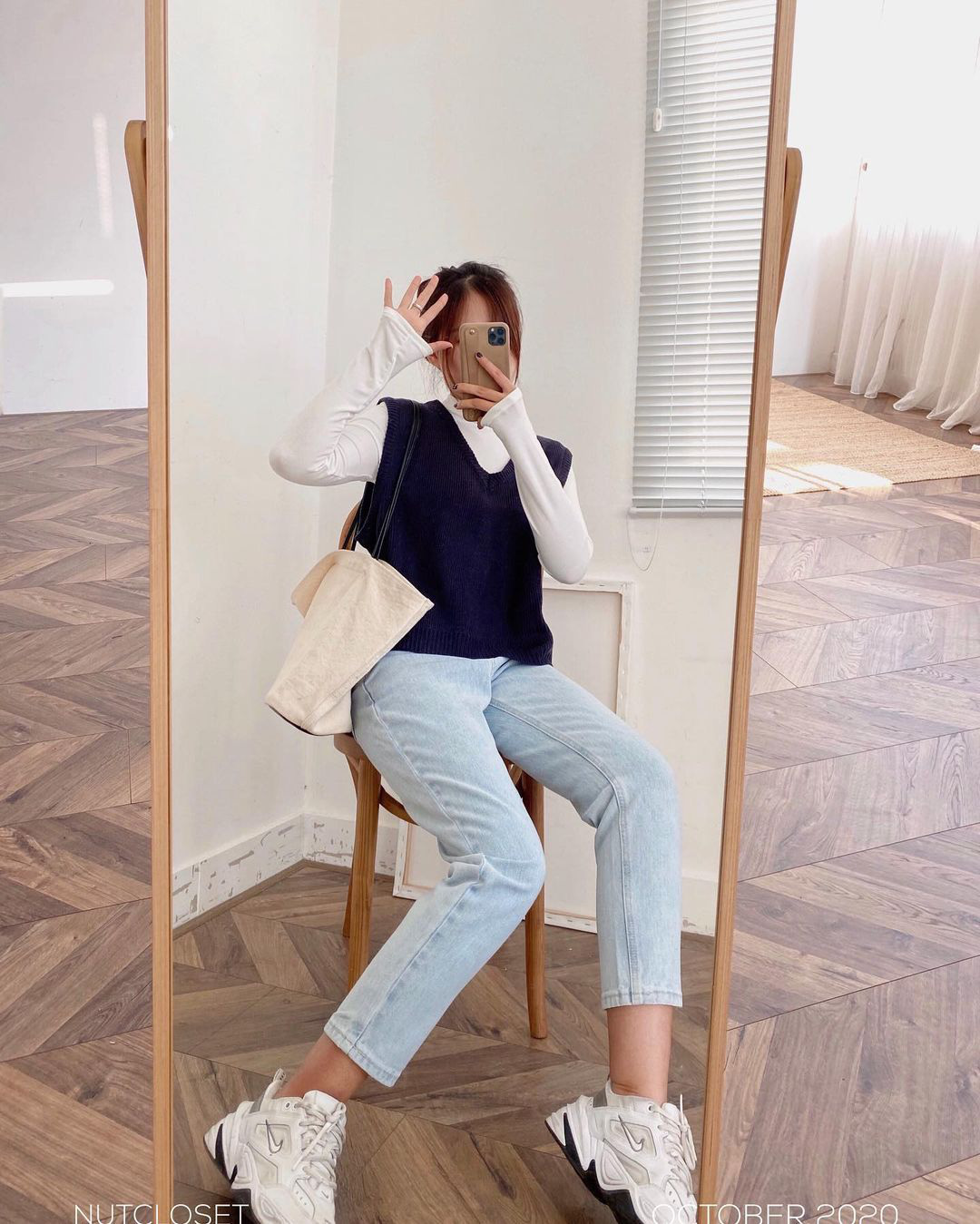 10 set đồ với quần jeans đáng sắm nhất tại các shop lúc này, giá cả thì cực kỳ yêu thương - Ảnh 6.