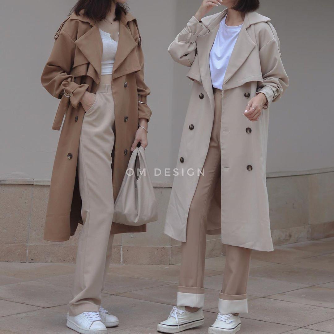 Sắm áo màu be, style của bạn chỉ có thanh lịch như gái Pháp hoặc sang xịn như gái Hàn trở lên - Ảnh 7.