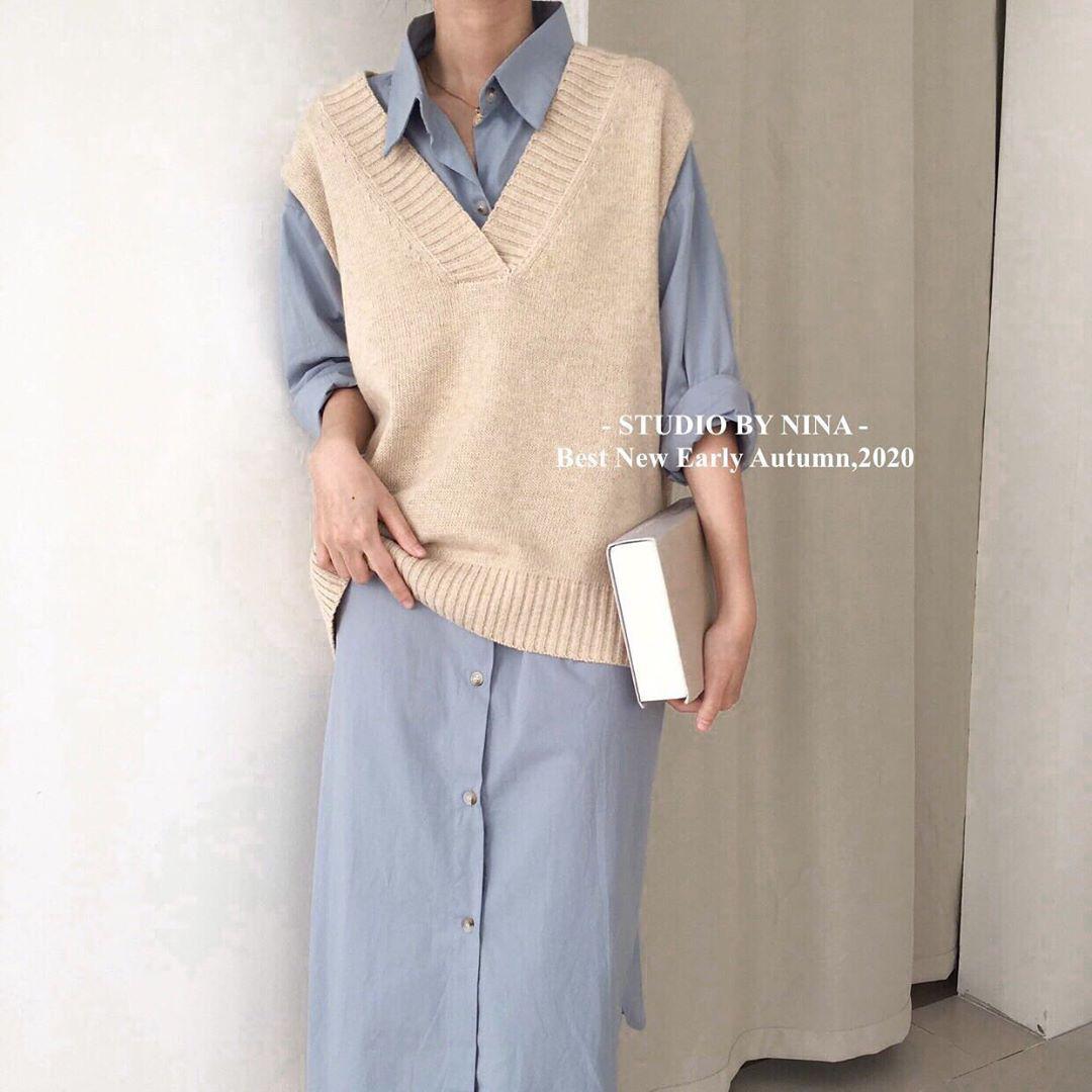 Sắm áo màu be, style của bạn chỉ có thanh lịch như gái Pháp hoặc sang xịn như gái Hàn trở lên - Ảnh 14.