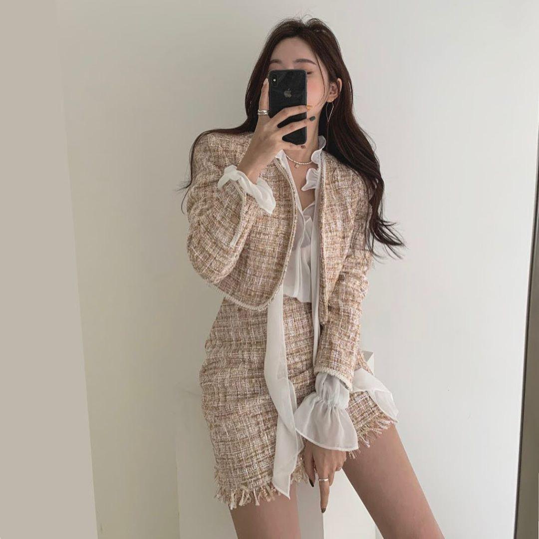 Sắm áo màu be, style của bạn chỉ có thanh lịch như gái Pháp hoặc sang xịn như gái Hàn trở lên  - Ảnh 5.