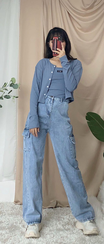Shopping đồ thu đông chỉ từ 88k nhưng cô bạn gom về toàn món xinh, hàng giống như hình siêu chân thực - Ảnh 5.