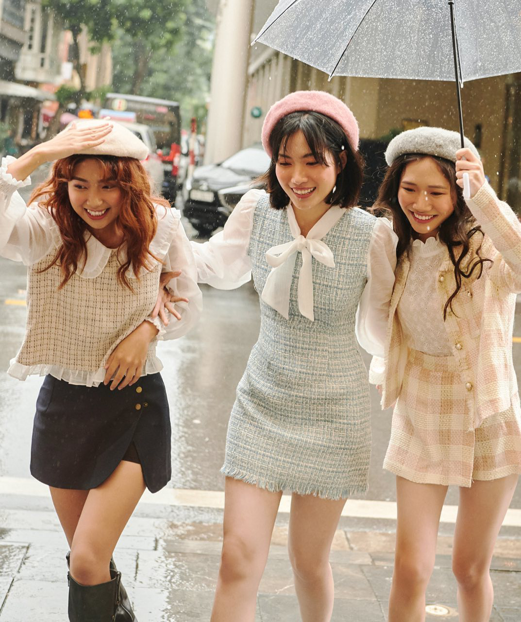 Học sao Việt sắm cả cây vải tweed thì đi đâu chị em cũng được khen xinh sang - Ảnh 9.