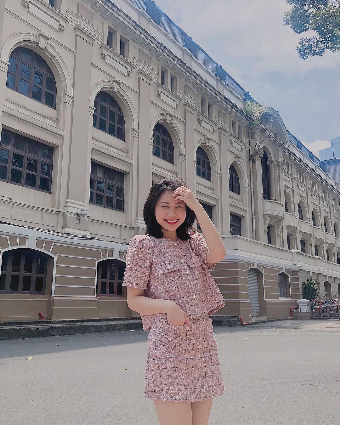 Học sao Việt sắm cả cây vải tweed thì đi đâu chị em cũng được khen xinh sang - Ảnh 8.