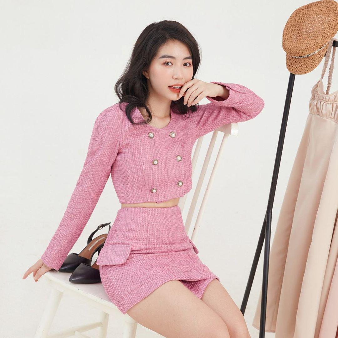 Học sao Việt sắm cả cây vải tweed thì đi đâu chị em cũng được khen xinh sang - Ảnh 5.