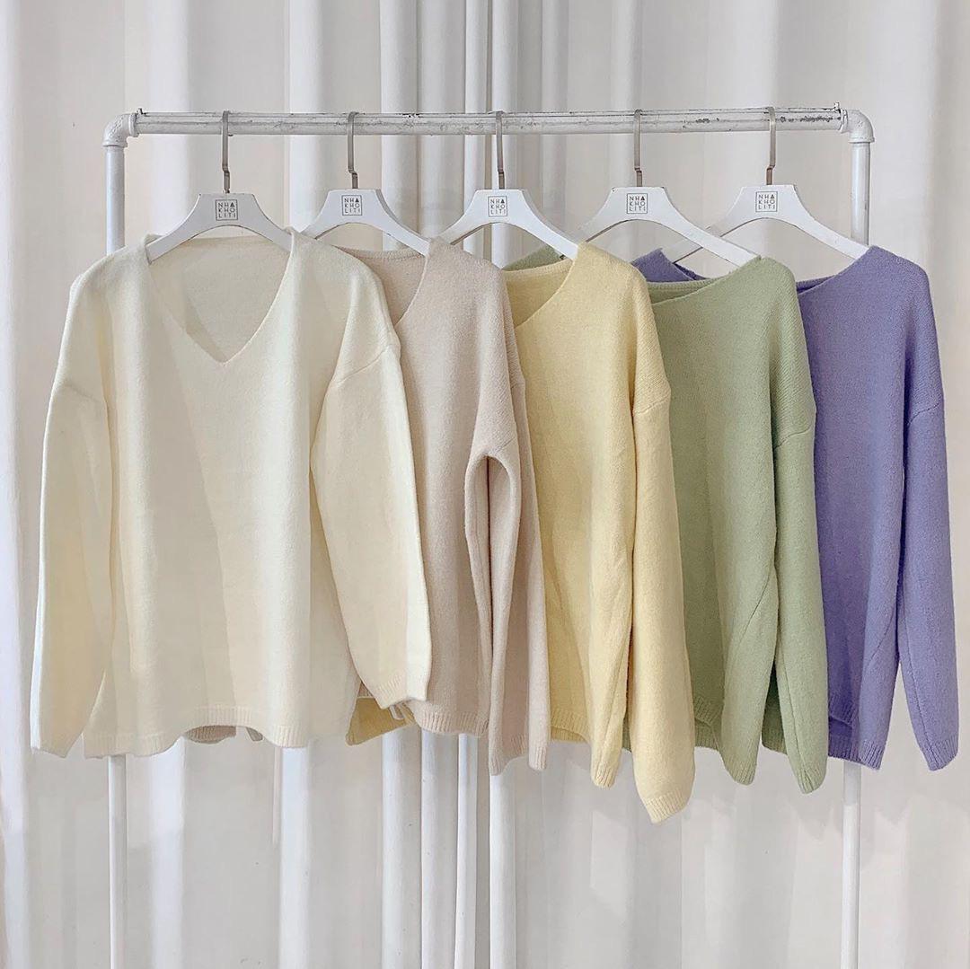 """Ngắm là muốn sắm luôn 11 mẫu áo len sang xịn, phối đồ nào cũng """"ăn rơ"""" - Ảnh 11."""