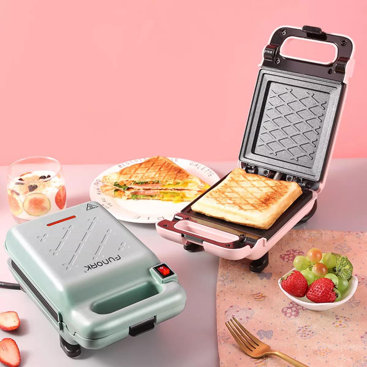 Từ 600k sắm ngay máy nướng bánh sandwich rán được cả trứng xịn sò - Ảnh 5.