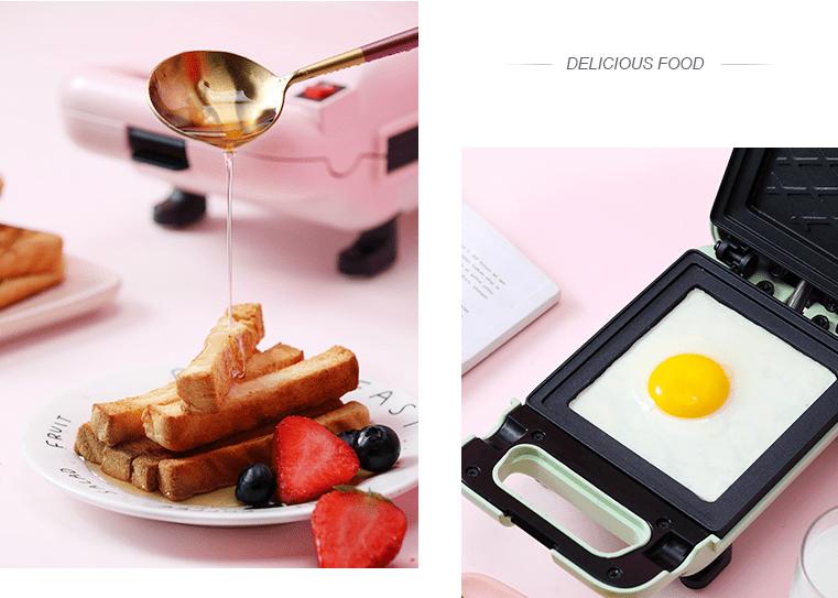 Từ 600k sắm ngay máy nướng bánh sandwich rán được cả trứng xịn sò - Ảnh 6.