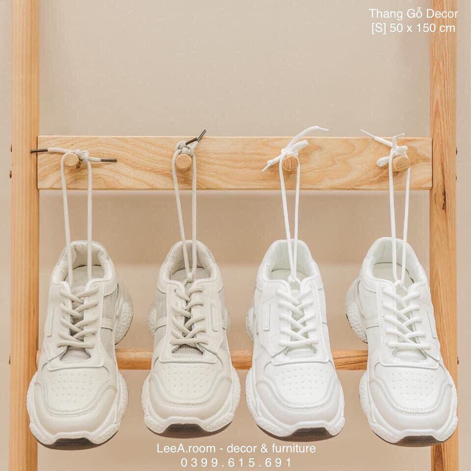 Thang gỗ treo quần áo tiện lợi kiêm luôn đồ decor giá chỉ từ 250k - Ảnh 5.